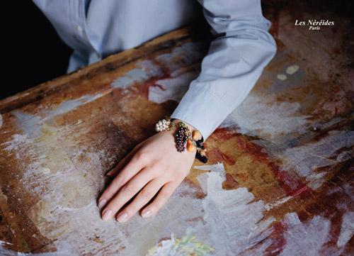 創立Les Néréides (蕾娜海)的法國設計師夫妻Pascale和Enzo Amaddeo,秉持「時尚就是改變」的信念,每一季都推出甚具獨特風格的飾品、香水及香精蠟燭。