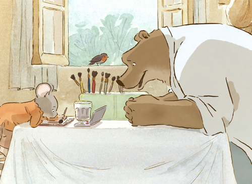 由比利時暢銷繪本改編的《熊熊遇見小小鼠》,清新的童話風格帶你重溫友誼的美好!