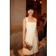 桂綸美穿上簡約清爽的白色小洋裝出席香奈兒2013新加坡渡假系列發表