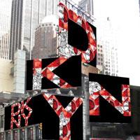 DKNY裝置藝術 翻玩「SOHO」塗鴉牆