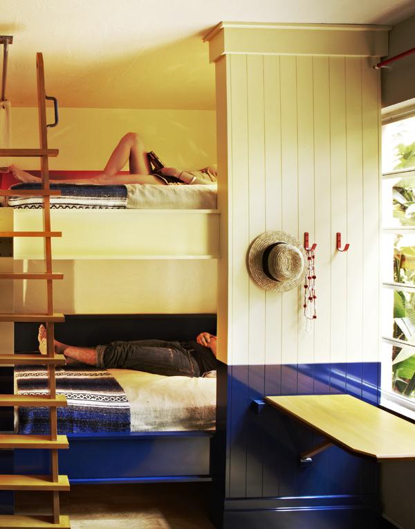 Freehand Miami Hostel雙人房一晚不到台幣3,000元,而簡潔乾淨的多人房甚至一晚台幣仟元還有找。
