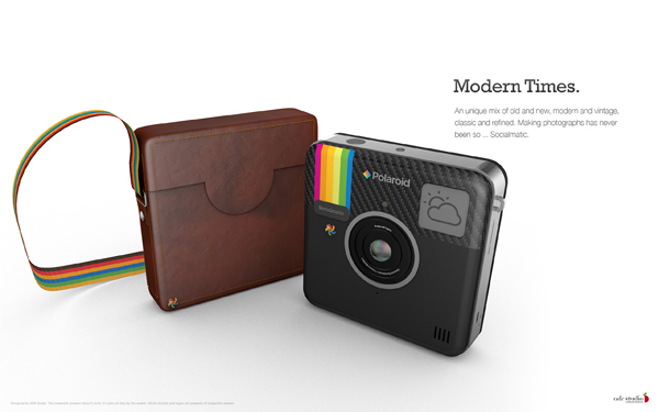 寶麗來 x Instagram 聯手打天下 推出實體相機