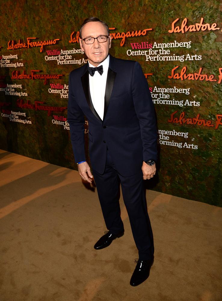 好萊塢男星凱文史派西
