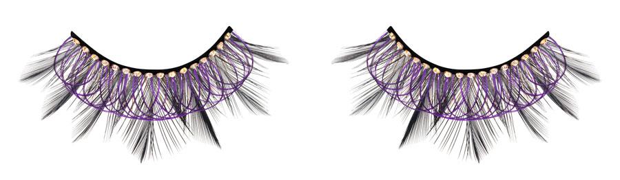村上隆限量天使假睫毛#紫迷奢鑽款 售價2500