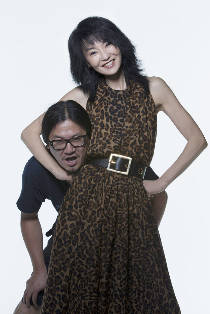 張曼玉與攝影師好友夏永康