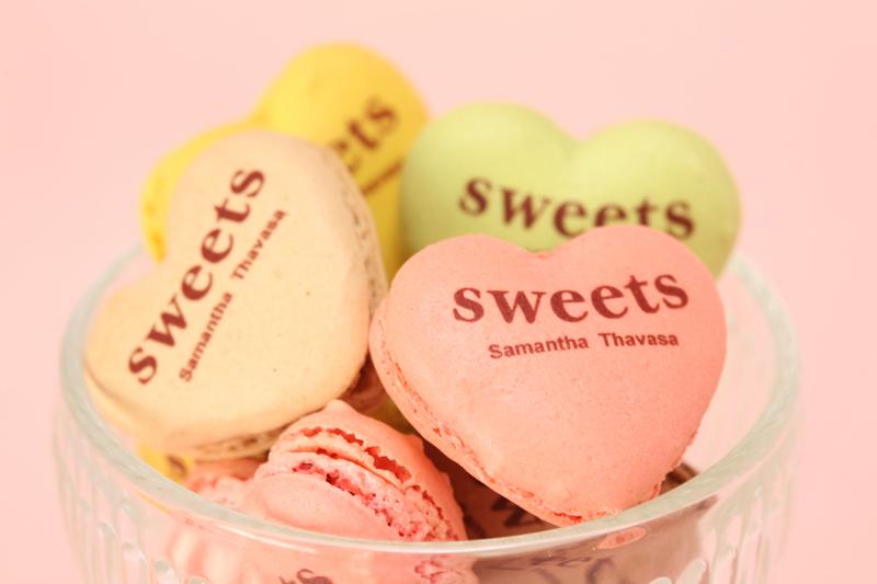 Samantha Sweets 愛心馬卡龍