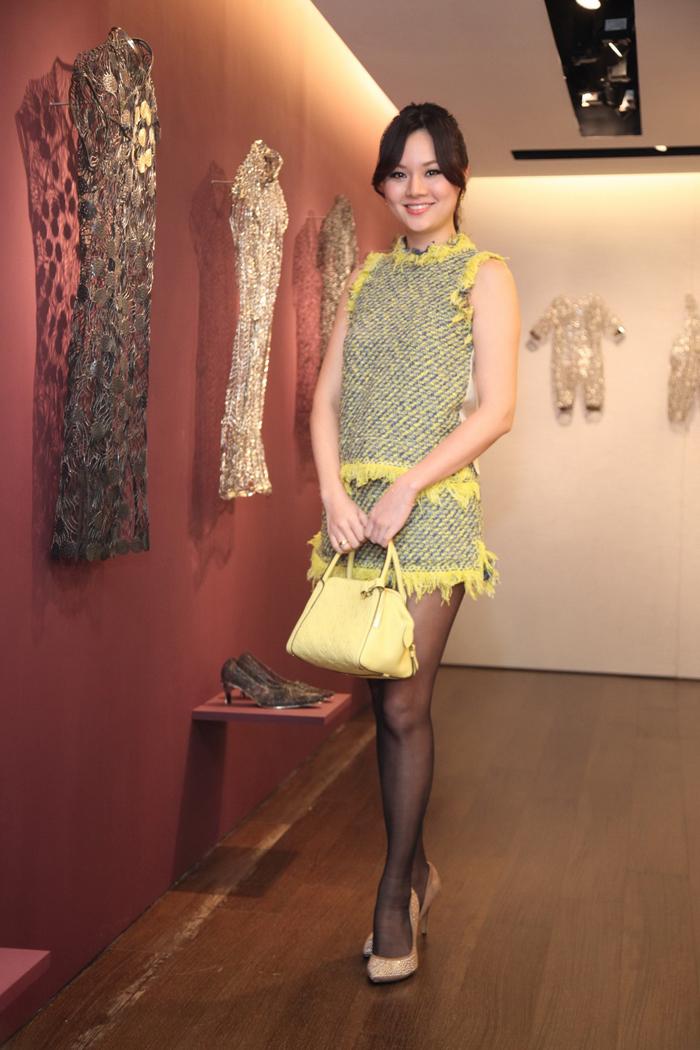泰發興業紡織千金董筱惠,嫁給旅美服裝設計師Jason Wu的哥哥吳季衡