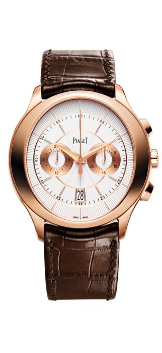 馬修麥康納配戴伯爵腕錶,盡顯影帝氣勢Gouverneur雙眼飛返計時腕錶