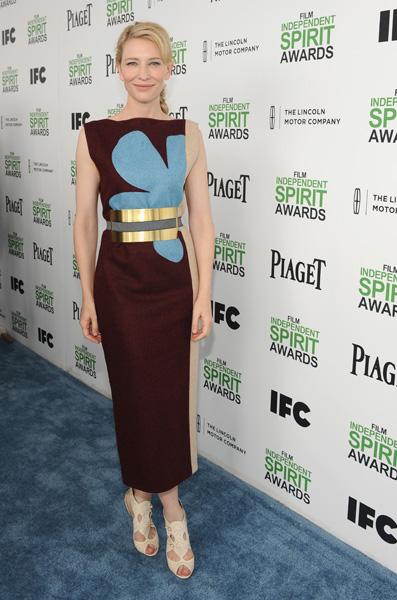 凱特布蘭琪(Cate Blanchett)藉伍迪艾倫(Woody Allen)新作《藍色茉莉》Blue Jasmine榮獲影后。