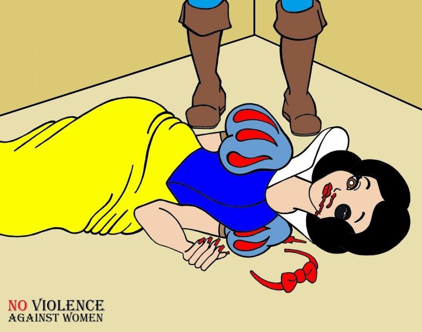 擅長時尚諷刺漫畫的義大利藝術家Alexsandro Palombo,最近就創作了一系列震撼人心的漫畫,希望以此來減少家庭暴力。