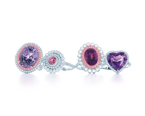 Tiffany 有色寶石戒指