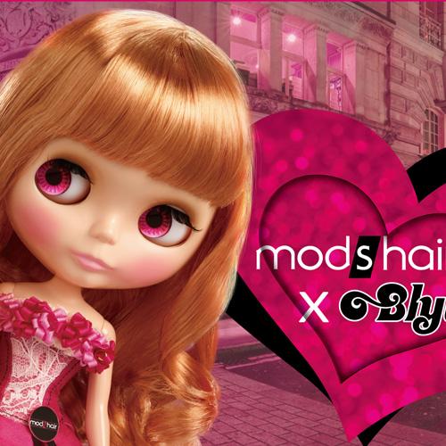 史上最FUN跨界聯名!mod's hair x Blythe小布娃娃掀時尚美髮旋風