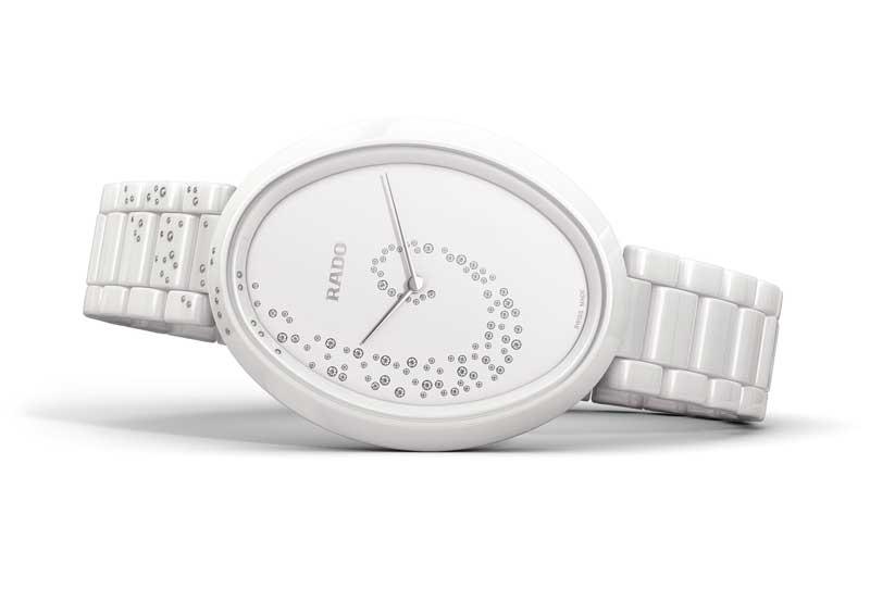 雷達表依莎系列高科技陶瓷觸控鑽錶(張榕容佩戴錶款)
