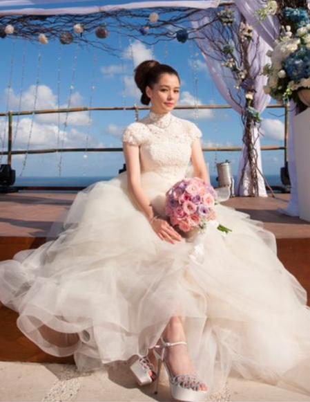 女神徐若瑄在峇里島The Edge Bali Villa藍天派對打造夢幻婚禮