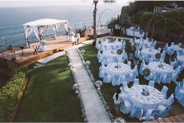 徐若瑄峇里島The Edge Bali Villa藍天派對婚禮 筵開16席