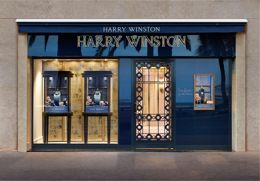 海瑞溫斯頓坎城品牌專門店