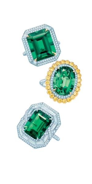 Tiffany 2014 頂級珠寶展  奇幻美鑽漫布指尖