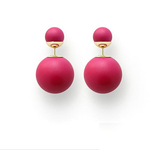 TOP 3推薦:層疊小耳環-Dior 「GUM-TEE-SHIRT」耳環