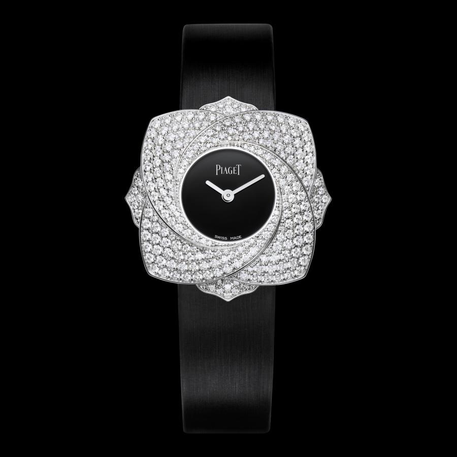 Piaget伯爵 Limelight Blooming Rose白金腕錶