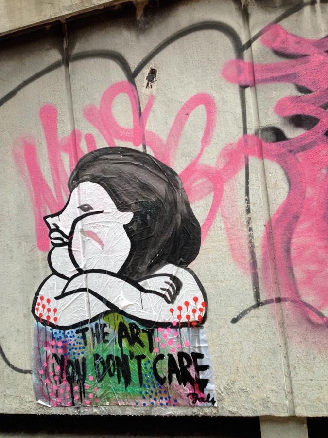 藝術不必在框中。都市灰泥牆,遇上奔放的新世代街頭藝術,為鬱鬱寡歡的無表情街道,增添靈魂色彩。