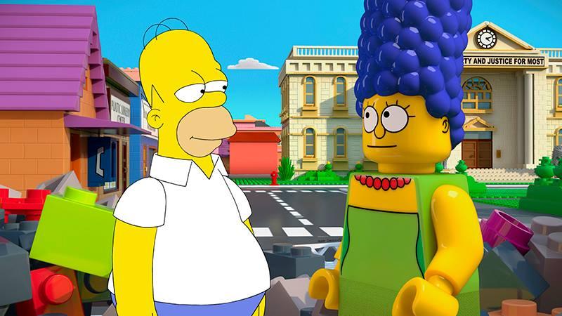 The SimpsonsLego