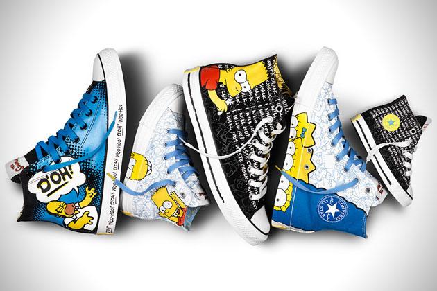 The Simpsons X Converse 聯名鞋款