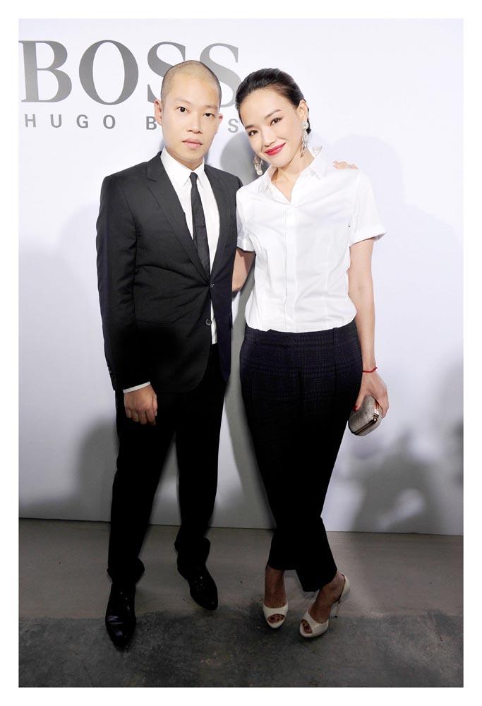 Shu Qi(舒淇) and Jason Wu(吳季剛)