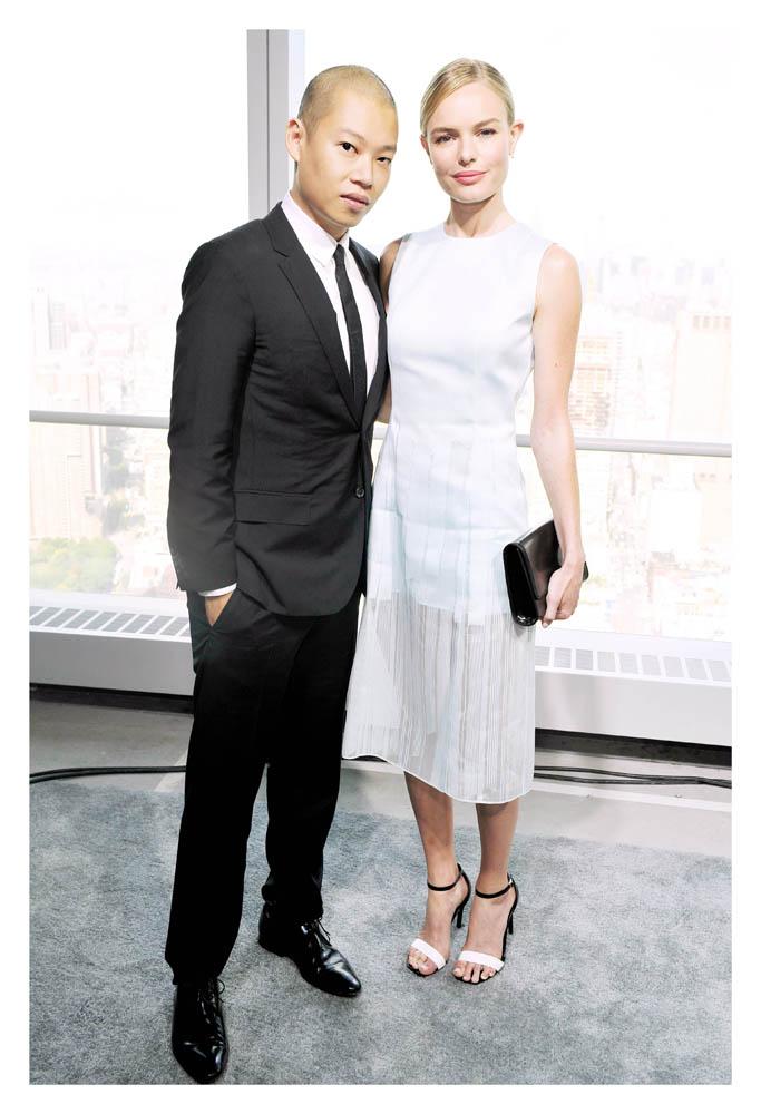 Kate Bosworth(凱特柏茲沃斯) andJason Wu(吳季剛)
