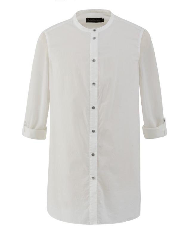 白色長版襯衫,Calvin Klein,NT4,980。