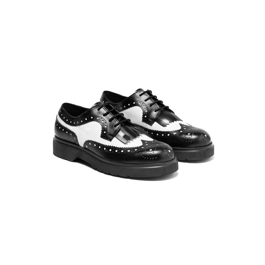 小牛皮復古皮鞋,Sisley,NT4980。