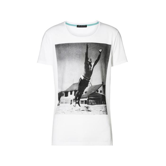 黑白相片 T-Shirt,Sisley,NT980。