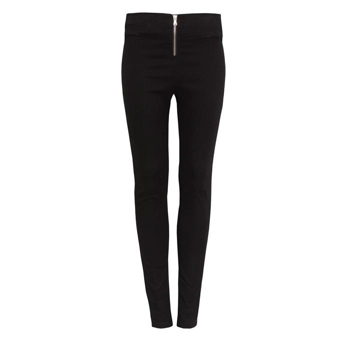 高腰窄管褲,Pull & Bear。