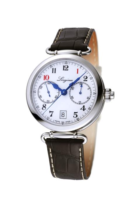 浪琴表導柱輪單按把計時碼錶-101限量錶款