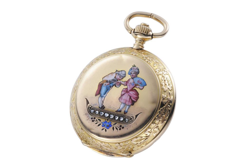 浪琴 古董懷錶