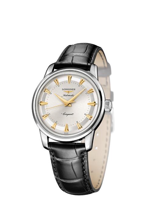 浪琴錶征服者60週年復刻限量系列款