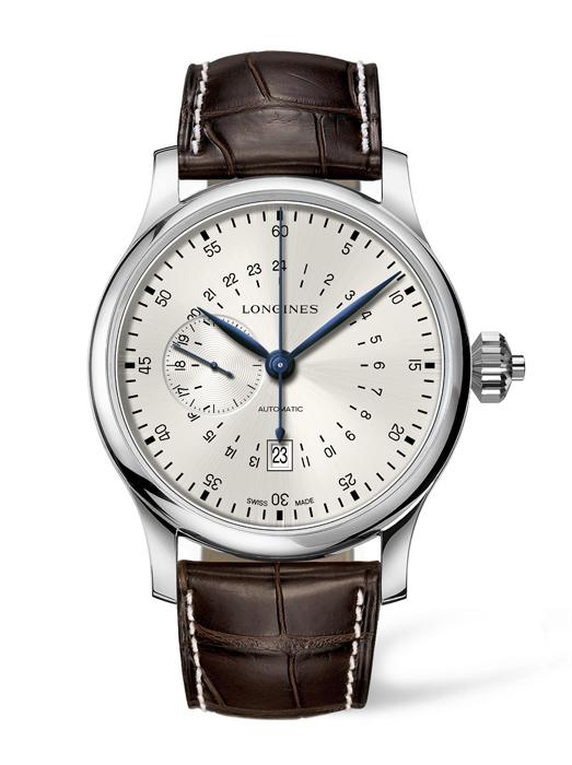 浪琴錶 24小時單按把計時碼錶