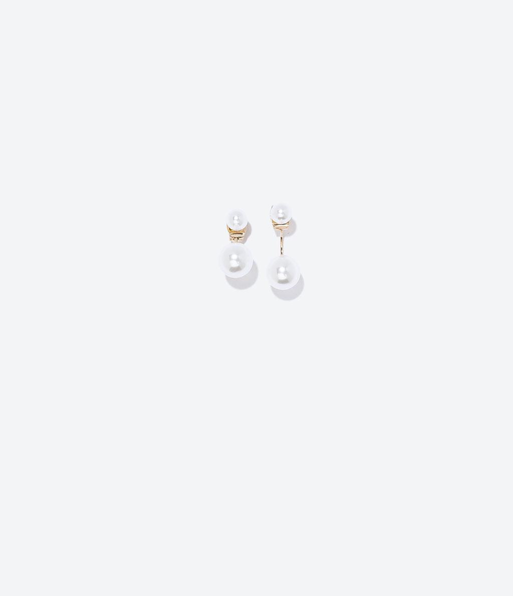 ZARA 珍珠耳環 NT$590