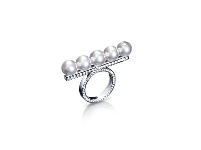 TASAKI balance diamonds pavé 平衡鑽石系列戒指,NT$47萬5千元
