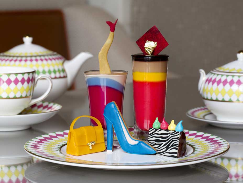 「Pret-A-Portea - THE JIMMY CHOO COLLECTION」下午茶菜單內容包含: