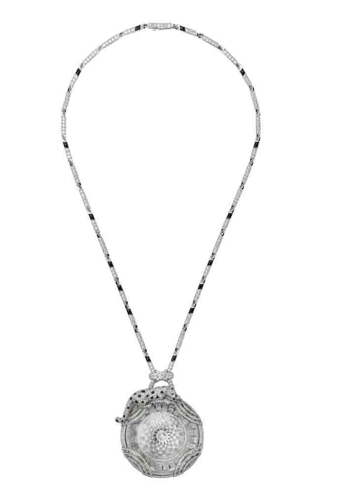 卡地亞Panthère de Cartier美洲豹頂級珠寶系列項鍊