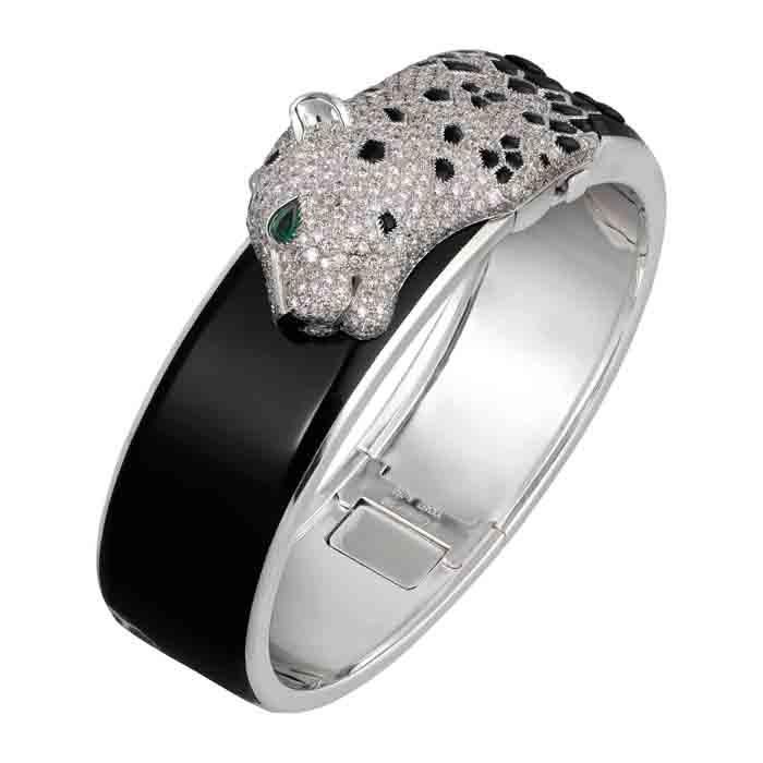 卡地亞Panthère de Cartier美洲豹頂級珠寶系列手環