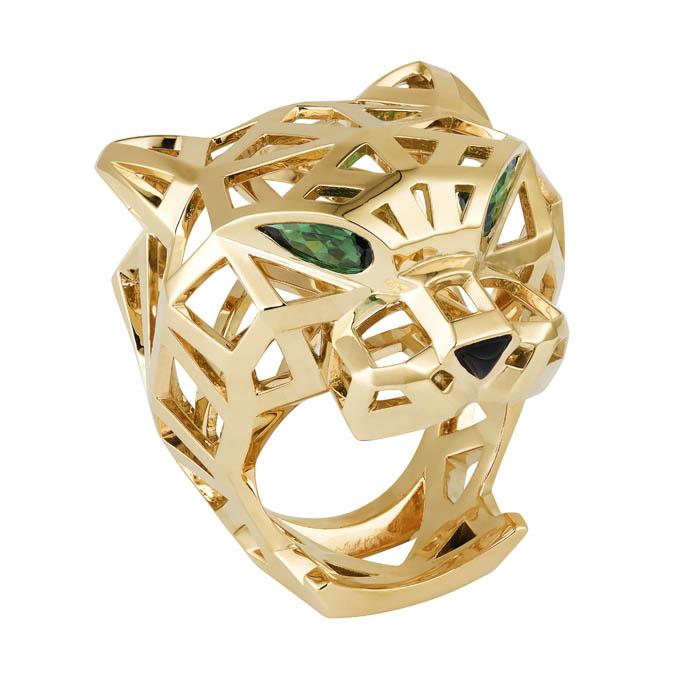 卡地亞Panthère de Cartier美洲豹系列戒指