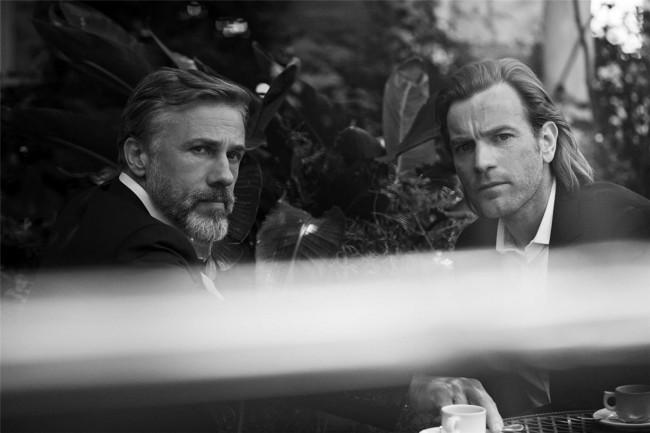 雖說 Christoph Waltz 和 Ewan McGregor 兩位性格男星的參與,非常有看頭,但這次的系列影像作品最大的亮點,還是在三位英氣逼人的女星身上。