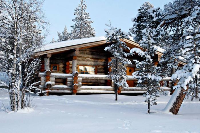 玻璃冰屋與環境合而為一,保留原味的天然絕佳美景。