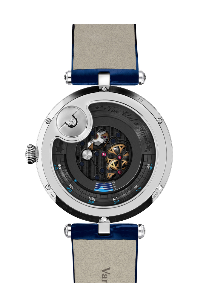 Van Cleef & Arpels梵克雅寶 Lady Arpels Heures Filantes 腕錶