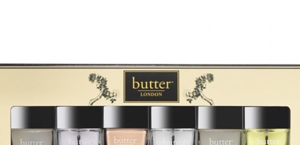 怕手太粗糙?怕男友等得不耐煩? butter LONDON讓妳用mini size組合就完成