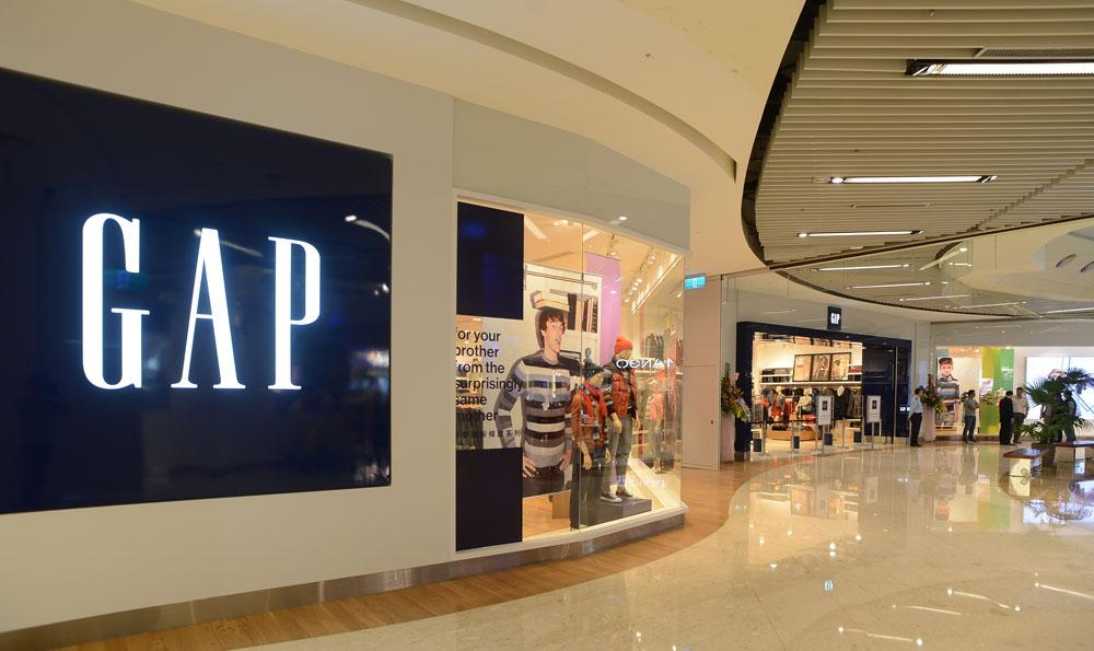 Gap新竹門店延續品牌一貫經典休閒美式風格,要提供給顧客最佳的購物體驗