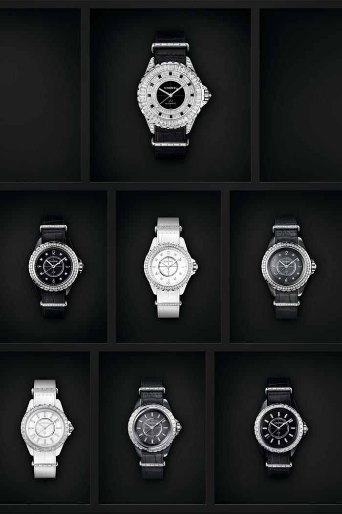 CHANEL以J12-G.10腕錶系列為女性錶款帶來華麗變奏,就像當年香奈兒女士將男裝獨有的特點帶入女裝設計之中,重新定義了時尚對於女性的意義,J12-G.10就是承襲著革命性的精神,自男性配件中汲取靈感延伸設計出全新錶款。