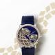 Cartier在瑞士新落成的 Maison des Métiers d'Art 藝術大師工坊重新詮釋了300年前古老的金銀絲細工技藝,打造出-Ronde Louis Cartier Filigrane金銀絲細工美洲豹裝飾腕錶。