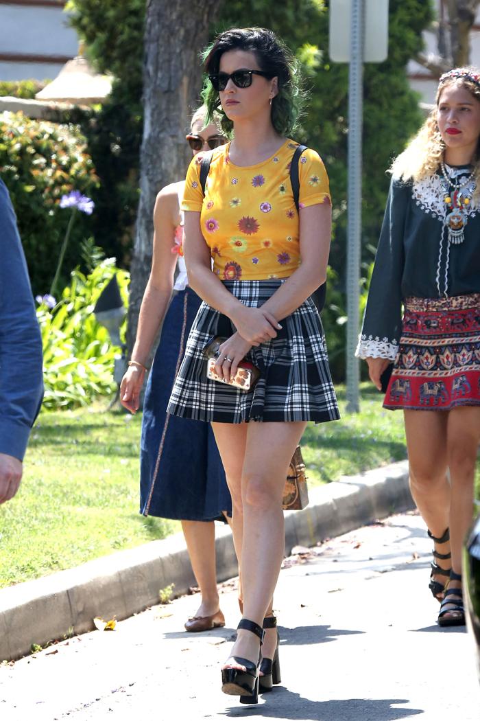 Katy Perry (編評:家庭主婦假扮女學生)
